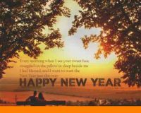 Happy New Year wishes to Husband in 2021 quotes
