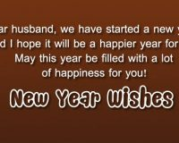 Happy New Year wishes to Husband in 2021 wishes quotes