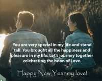 Happy New Year wishes to Husband in 2021s year