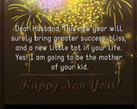 Happy New Year wishes to Husband in year 2021