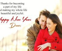 wishes to wife for happy new year 2021
