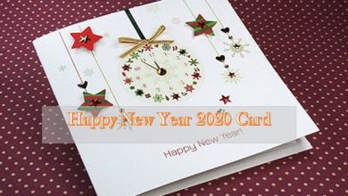 Photo of Happy New Year Card 2021 Greeting Card Designs, Ideas, Wishes & Msgs