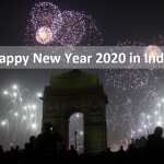 Happy New Year 2020 in India