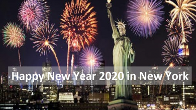 Photo of Happy New Year in New York 2021