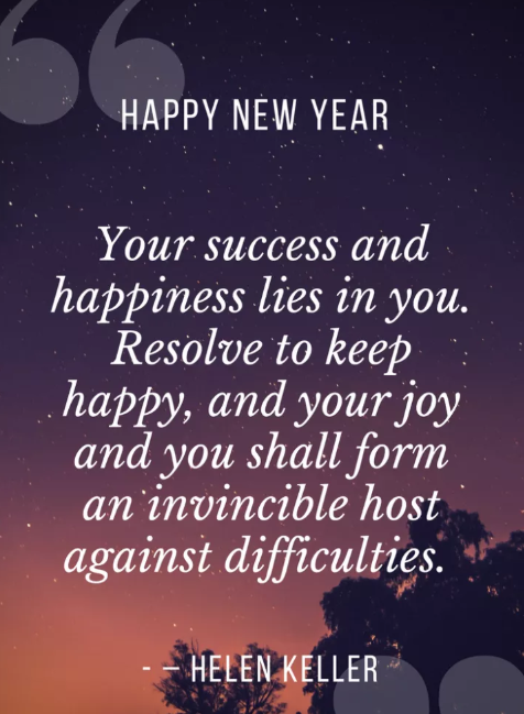 new year best wishes quote