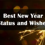 Happy New Year Status 2021 - HNY Status Whatsapp, Facebook, Hindi & English