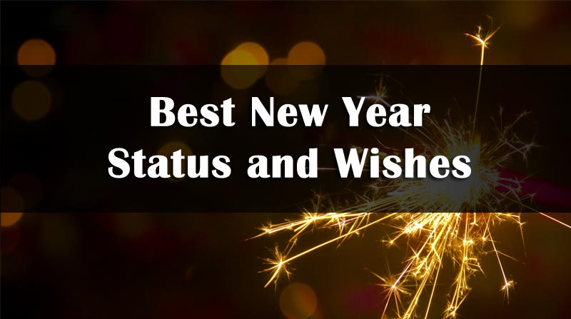 Photo of Happy New Year Status 2021 – HNY Status Whatsapp, Facebook, Hindi & English