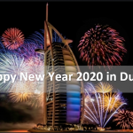 Happy New year in Dubai year 2020. HNY 2020 in Dubai