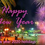 Happy New Year Holiday 2021. HNY 2021 Holiday Destinations