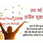 Happy New year 2020 wishes in Hindi Language