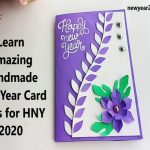 Handmade New Year Card Ideas for HNY 2021