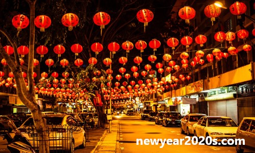 New Year 2020 Celebrations in China