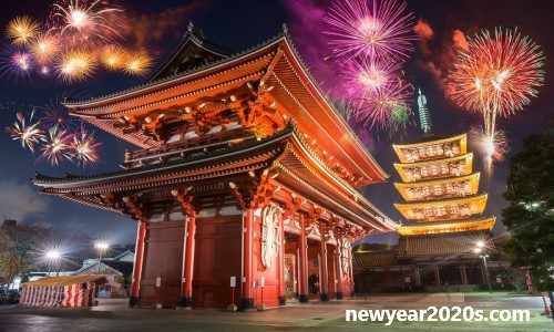 New Year 2020 Celebrations in Japan