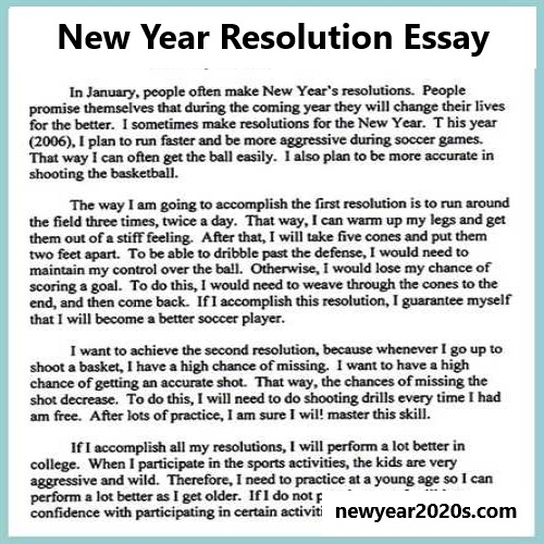 Photo of Learn How to Write a New Year Resolution Essay