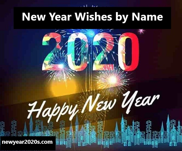 New Year Wishes by Name
