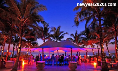 Phuket's Surin Beach new year party
