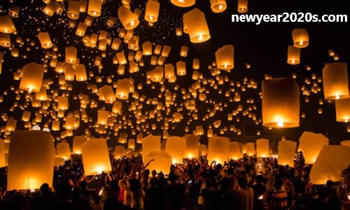 The Lantern Festival in Chiang Mai