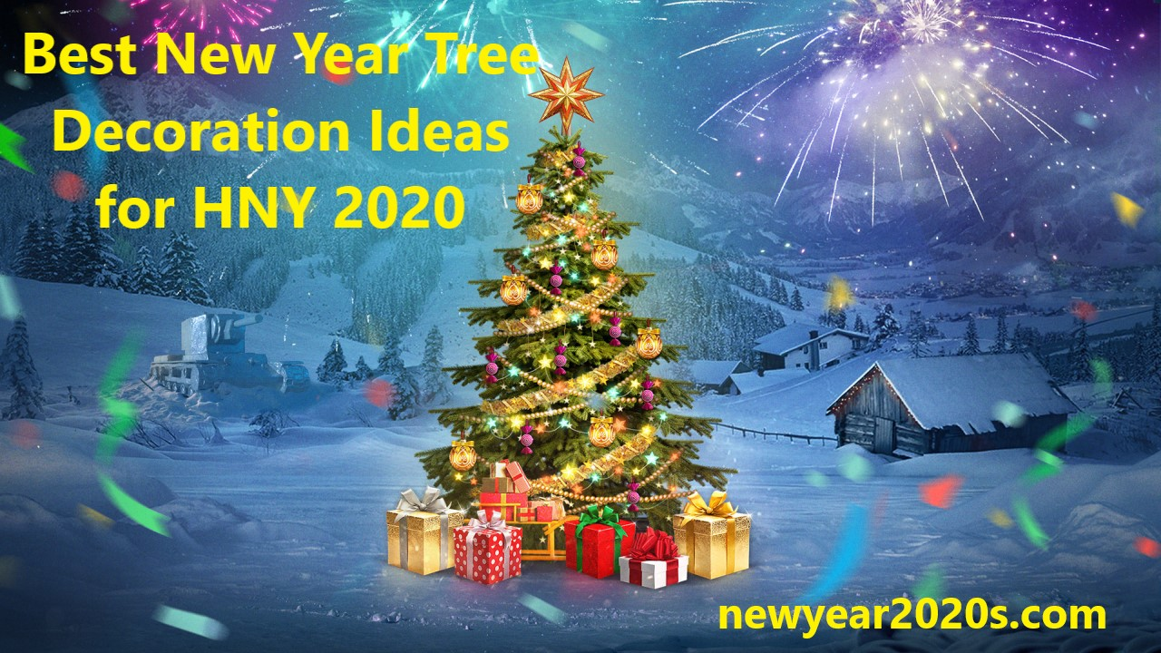 Photo of Best New Year Tree Decoration Ideas for HNY 2021