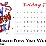 Learn Happy New Year Words - Wishes & Vocabulary