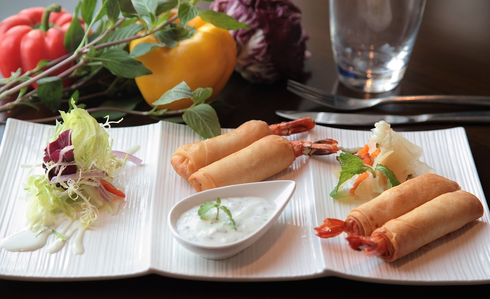 Chinese new year springroll