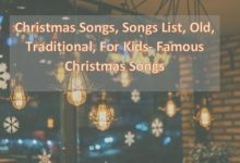Photo of List of Christmas Songs 2020 Traditional for Kids