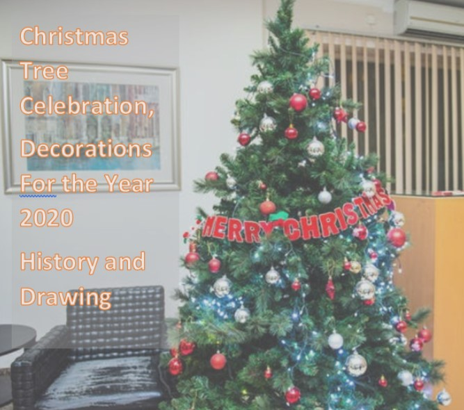 Real Christmas Tree 2020 Meaning Along with History and Drawing Ideas