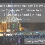 India Christmas Holiday | How Do They Celebrate Christmas in India | Christmas Food | Hindu Christmas