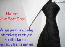 best new year wishes for boss