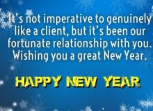 best new year wishes greetings for business partners