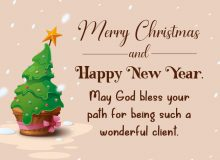 best new year wishes message for clients