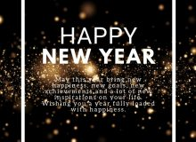 happy new year message greeting