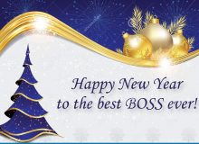 happy new year wishes for best boss