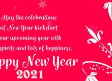 happy new year wishes for customers