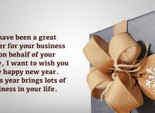 happy new year wishes greeting for clients