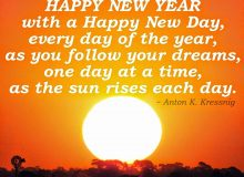 happy new year wishes quote