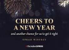 happy new year wishes quote by oprah wifrey