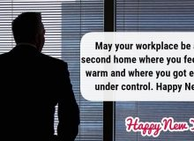 happy new year wishess for collegue
