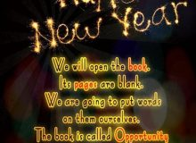 inspirational new year wishes quote
