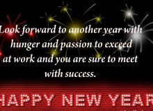 motivating new year wishes for collegues