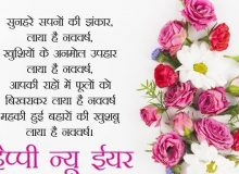 new year hindi quote