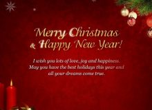 new year wishes and chritmas for business clients