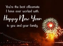 new year wishes for collegue 2021