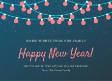 new year wishes greetings for loved ones