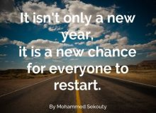 new year wishes quote by mohammad sekouty
