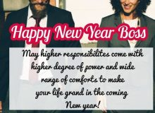 professional new year wishes for boss