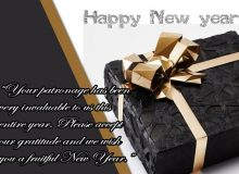 simple new year message for clients