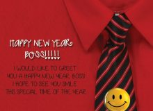 sweet happy new year wishes for boss